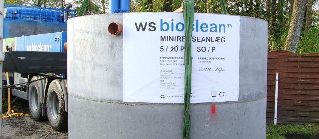WS-bioclean 5PE anlæg